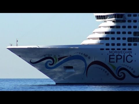 NORWEGIAN EPIC - ELABORATE  TOUR  WITH BUFFET AND CABINS - ENGLISH