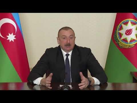 Президент Ильхам Алиев о результатах войны в Карабахе.