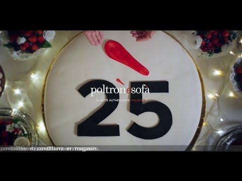 Vidéo Poltronesofà - anniversaire 25 ans
