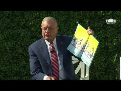 White House Easter Egg Roll Reading Nook - General Joseph Keith Kellogg Jr.