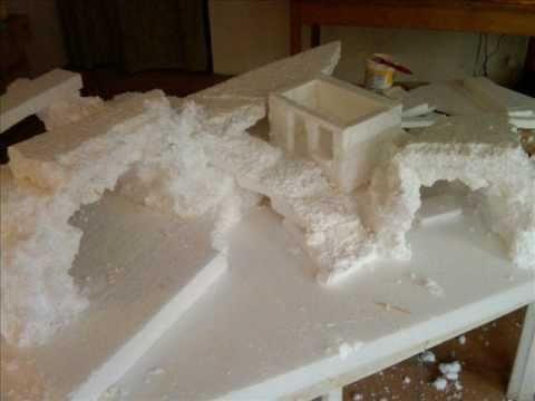 Making Of A Christmas Crib 2010 New