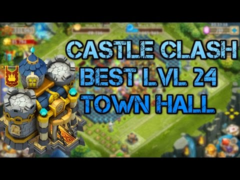 CASTLE CLASH: BEST GUILD WARS BASE FOR LVL 24!!!!!