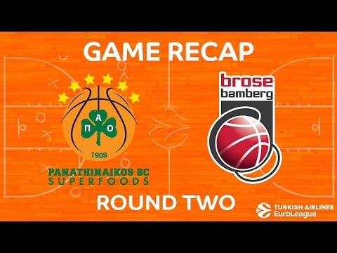 Highlights: Panathinaikos Superfoods Athens - Brose Bamberg