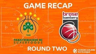 Highlights: Panathinaikos Superfoods Athens - Brose Bamberg