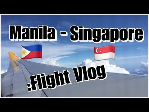Vlog#1:Manila To Singapore Cebu Pacific 5j806 A330| Flight Vlog | Paolo Sarmiento