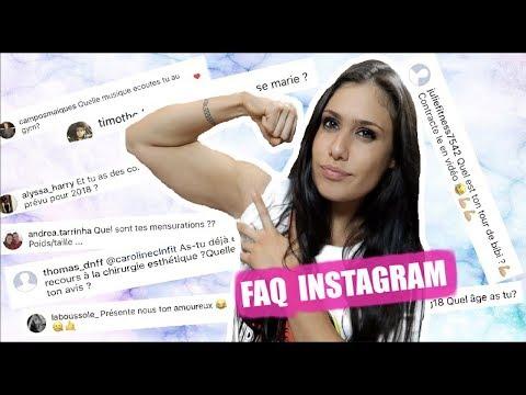 ㋡ FAQ INSTAGRAM | CAROLINE CLN FITNESS