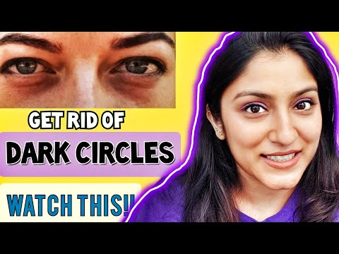 🐼 DARK CIRCLES UNDER EYES HOME REMEDIES & PRODUCTS 👀