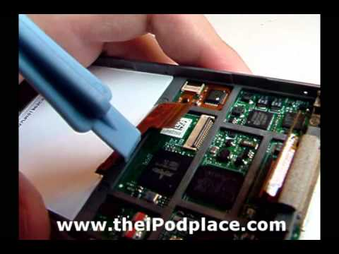 Taking Apart the iPod Video 5th Gen - theiPodplace.com