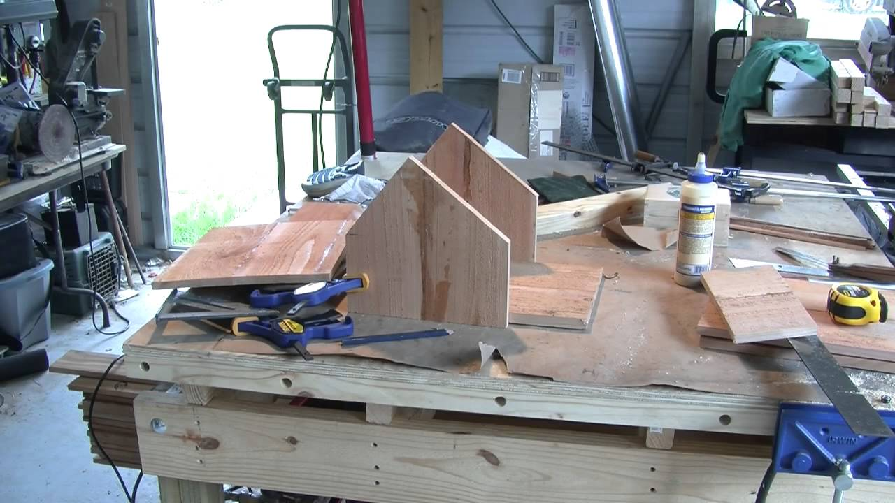 purple martin house - summers woodworking contest entry 2014 - youtube