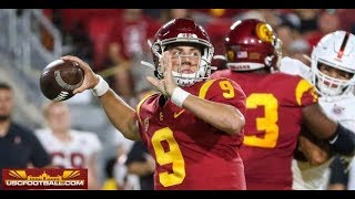 Field-level highlights from USC's 45-20 win over Stanford