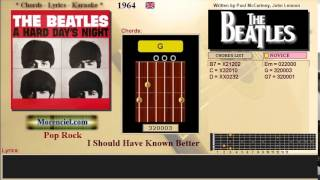 The Beatles - I Should Have Known Better #0428