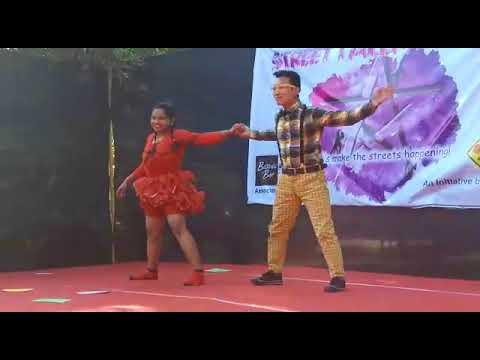 NAZREN MILI | MADHURI DIXIT |PERFOMED BY RADHA # R 2 DANCE