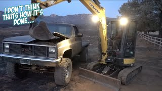 CHEVY vs EXCAVATOR
