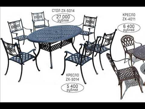 Мебель для улицы и дачи | металлические скамьи, столы, стулья | купить в Калининграде