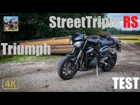 Triumph Street Triple RS TEST | Nakedbike-Traum In Schwarz...?!
