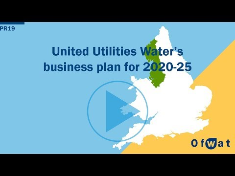 United Utilities Water's business plan for 2020-25