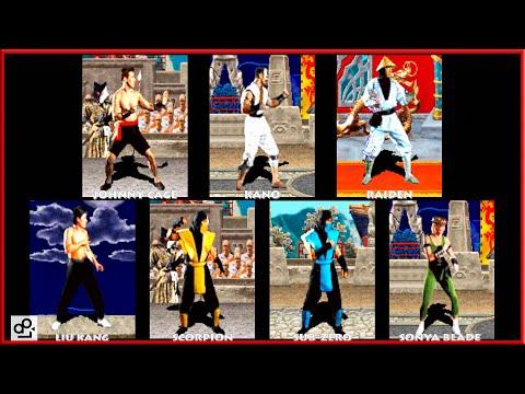 Mortal Kombat ALL CHARACTERS | ARCADE | 1080p 60fps thumbnail