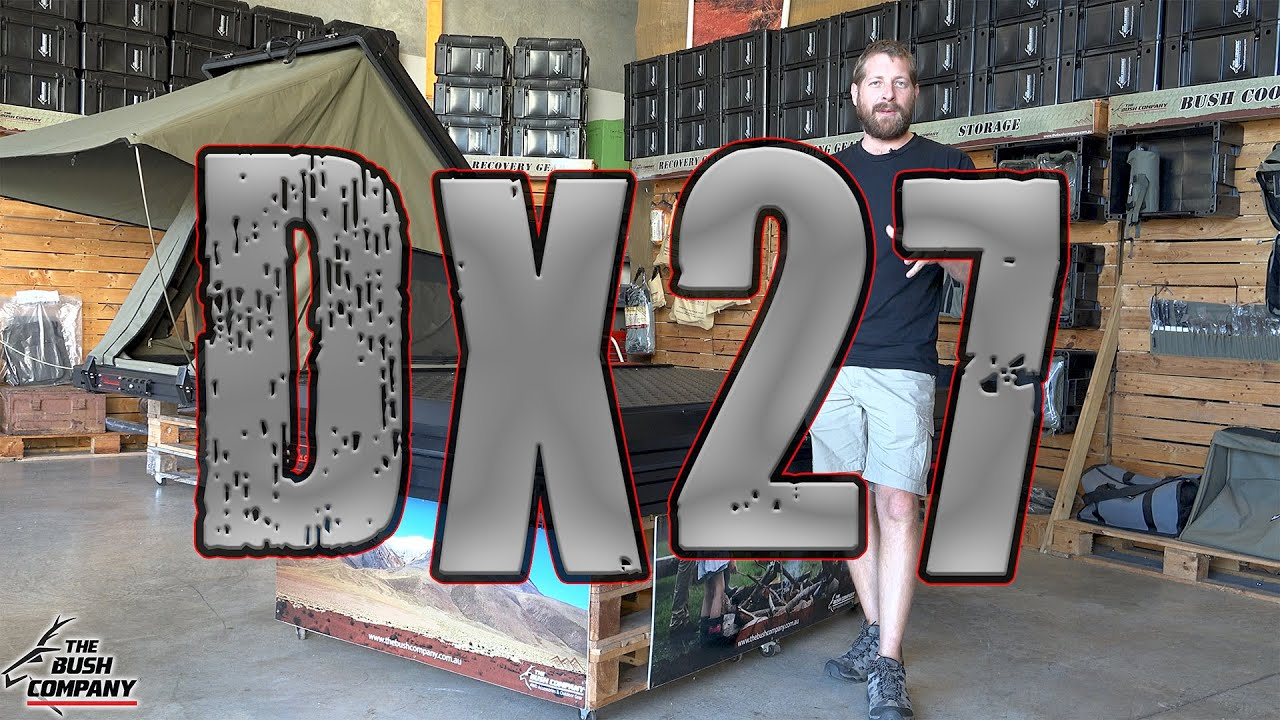 DX27 Clamshell Rooftop Tent - The Bush Company