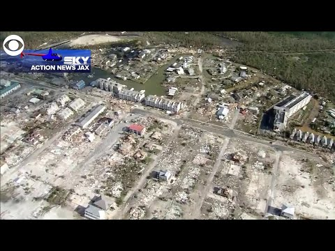 WEB EXTRA: Mexico Beach, Florida Damage In Wake Of Hurricane Michael