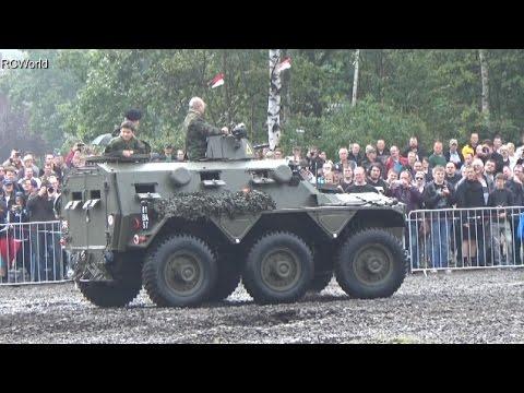 Stahl auf der Heide 2014 ♦ Saracen FV603 in Action ♦ British Army APC MTW
