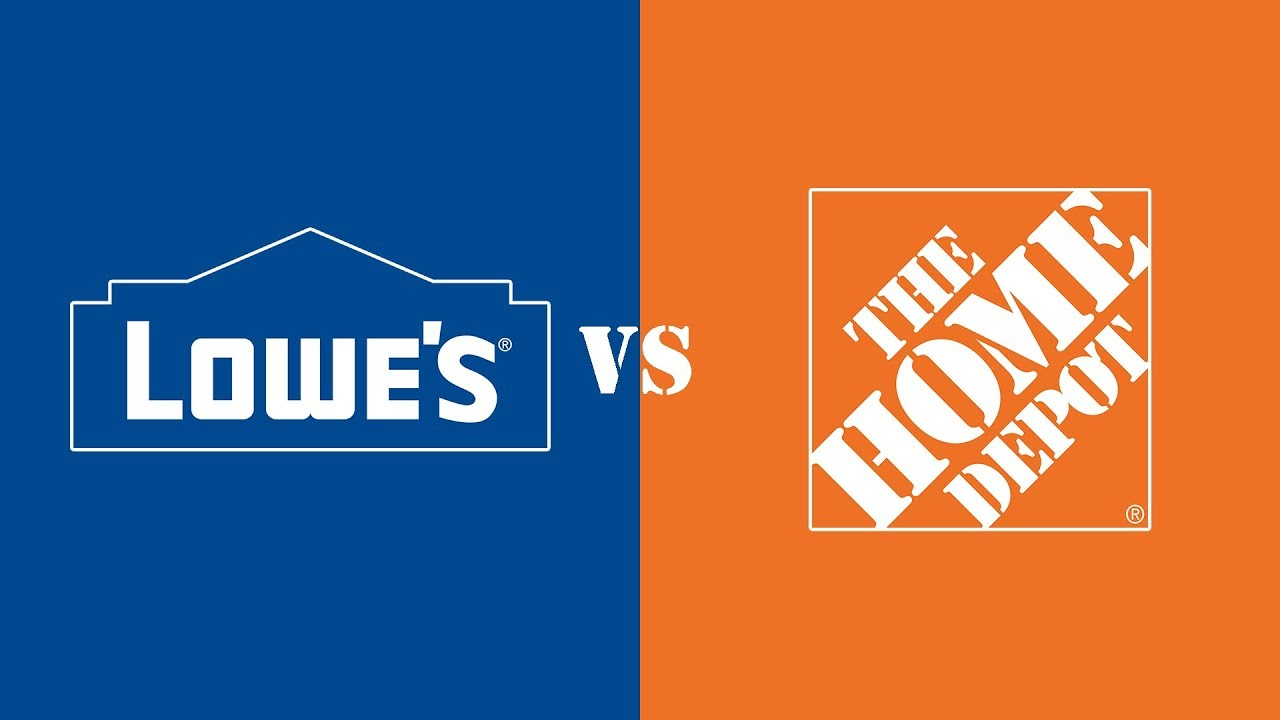 Lowe's vs. The Home Depot - YouTube