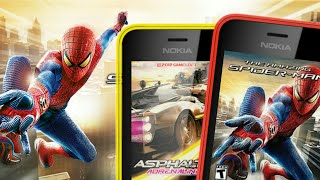 Downloading Amazing Spiderman for free in Nokia 216