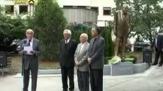 Откриване на паметник на Светослав Лучников