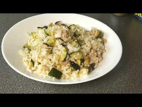 recette-facile-:-riz-au-courgette