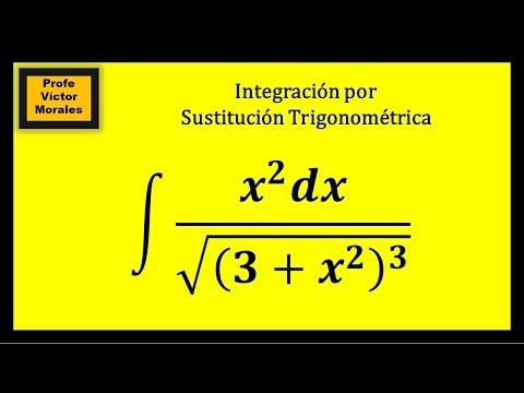 Integración por Sustitución Trigonométrica. Ejercicio 1