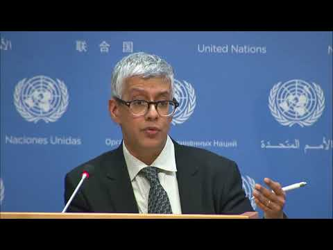 UN Recovery & Resilience Programme for Iraq & other topics - Daily Briefing (14 February 2018)