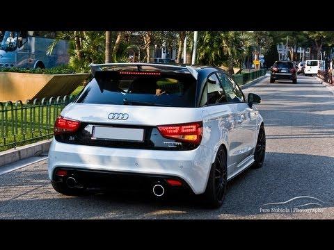 Audi A1 Quattro MTM - Accelerations in Monaco