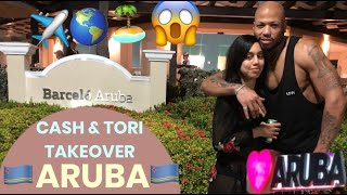 ARUBA VLOG| HOW TO DUCK A SNOWSTORM PROPERLY❄️?✈️?