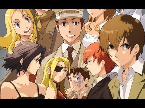 GR Anime Review: Baccano!
