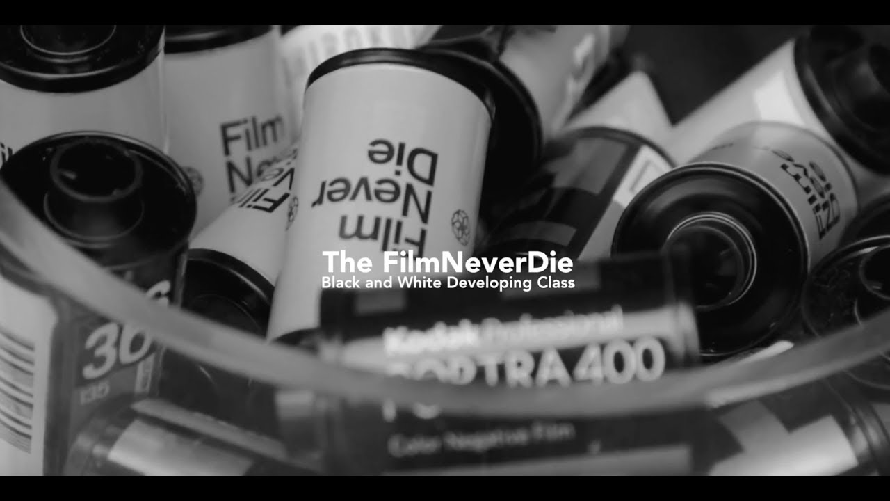 The filmneverdie black and white developing class