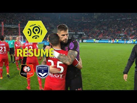 Stade Rennais FC - Girondins de Bordeaux (1-0)  - Résumé - (SRFC - GdB) / 2017-18