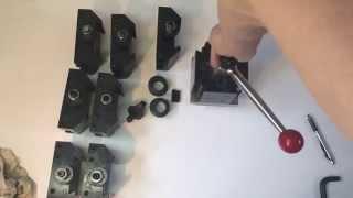 For sale: Dorian QITP 50 Quadra Index Toolpost Set