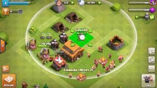 Clash of clans :construindo a torre do clã e entrando em um clã