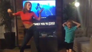 Taylor Swift Shakes It Off With 7 Year Old Superfan