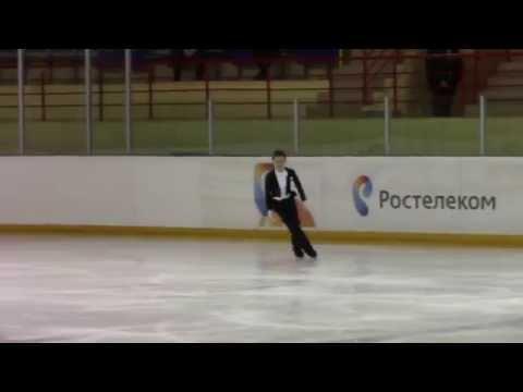 Rostelecom Crystal Skate 2015  Men, Juniors  ПП 1 Vladislav KATICHEV RUS