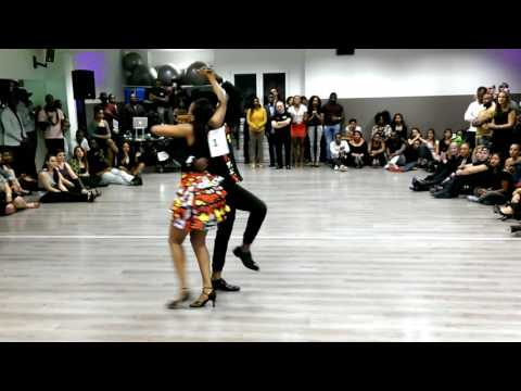 Manu & Amandine - Improvisation Semba [ Certeza Finale 2016 ]