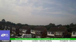 Live Webcam Feed - Manchester UK - Severe Weather Updates