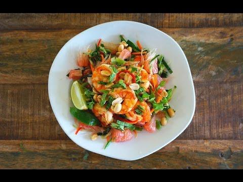 Pomelo Salad With Prawns