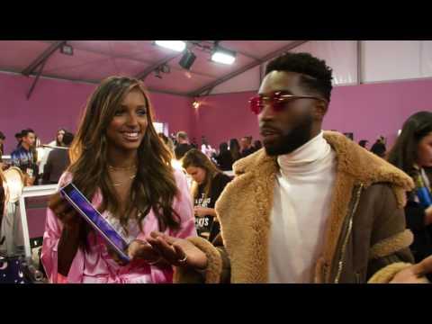 Victoria's Secret Angels interview 📸🗼💋: Tinie Tempah and the CÎROC cocktail app 🍸
