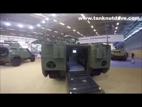 Turkish TULPAR-S Heavy Armoured Personnel Carrier 2016