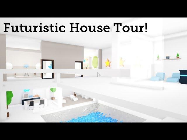 Futuristic House Tour Adopt Me Youtube