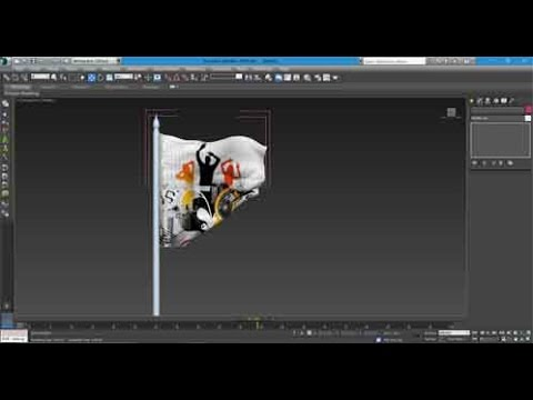 how to make flag in 3d max simple way apex clothing