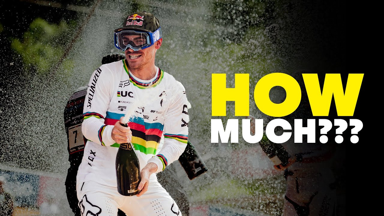 Download How much are the top MTBers actually worth? | Loic Bruni, Kate Courtney & Finn Iles | Fast Life S3E5