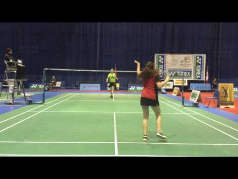2017 Canadian Junior Championships Moncton WS U19 Courtney MacDonald VS Emy Robert