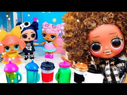 Вечеринка в Новом Зимнем домике ЛОЛ! Как девочки чуть не испортили праздник Диве!