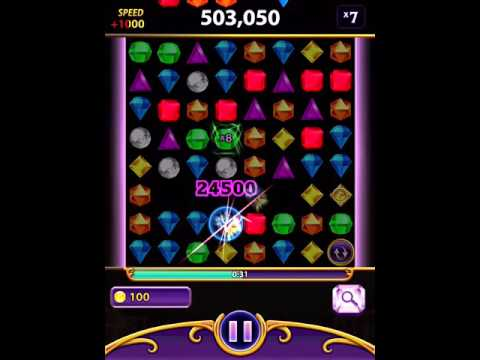 Bejeweled Blitz iPad [No Cheat] 1,847,300 Phoenix Prism (Elite Technique)